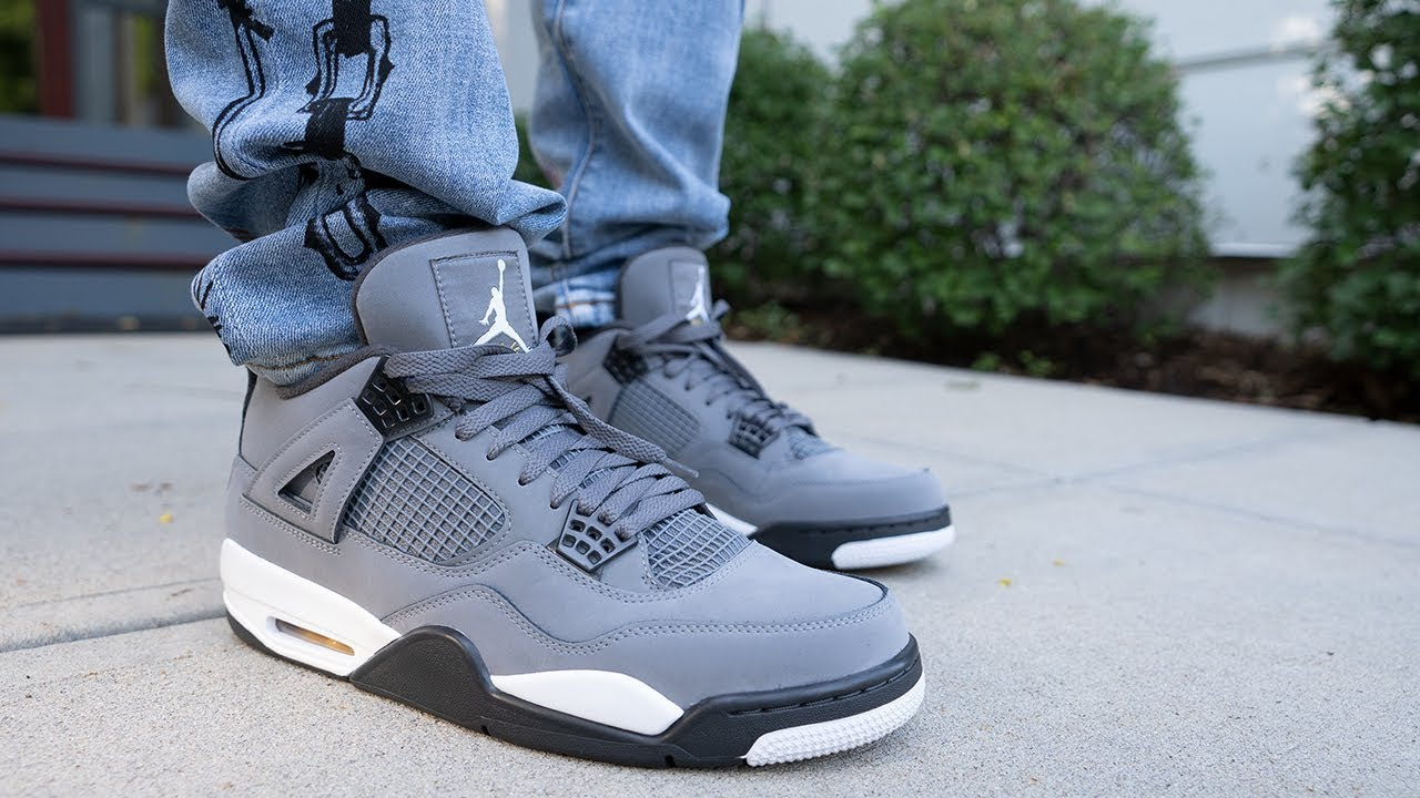 jordan cool grey 4 outfit