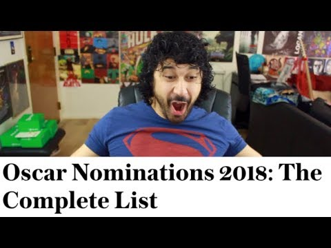 REACTING to the 2018 OSCAR NOMINEES LIST!!!