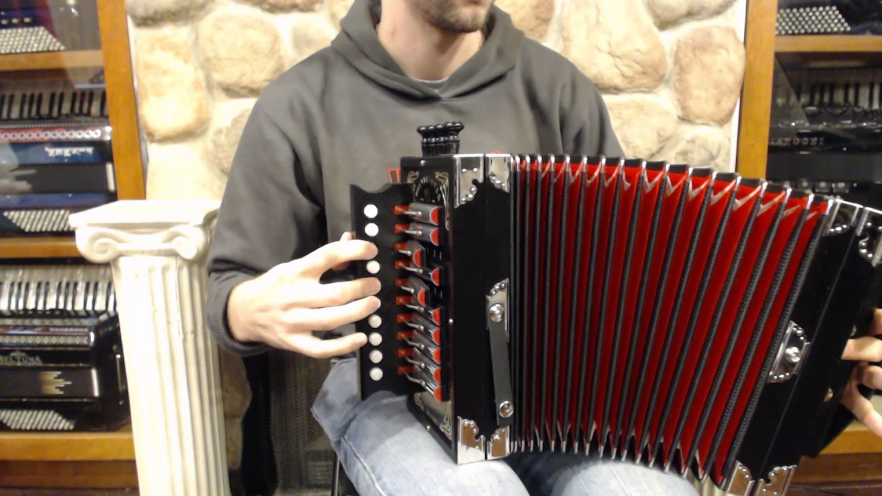WMCAJUND - Black Weltmeister Cajun Diatonic Accordion D 10 2 $1299