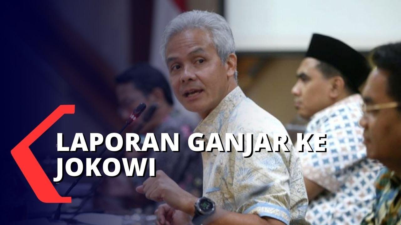 Laporan Gubernur Jateng di Hadapan Jokowi, Ganjar: Daerah Risiko Tinggi Semarang, Demak, Jepara - KOMPASTV