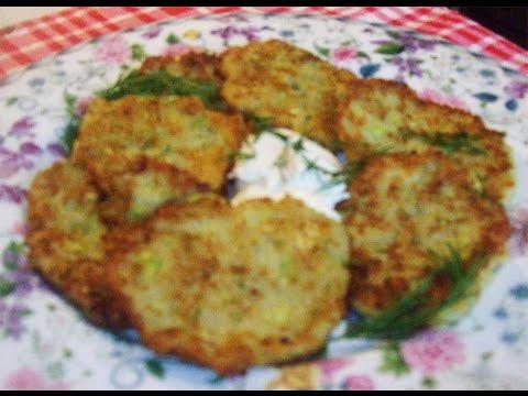 Драники  картофельно-кабачковые