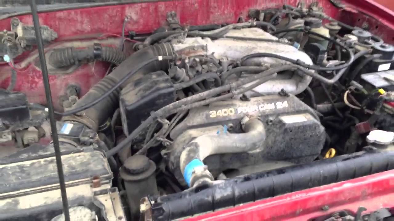 4l engine diagram 3 toyota 3.4l v6 with bad engine knock - youtube