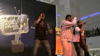 Magnum Live - Raaga Astro Award 2010 # Showcase @ Penang - Part 1/2
