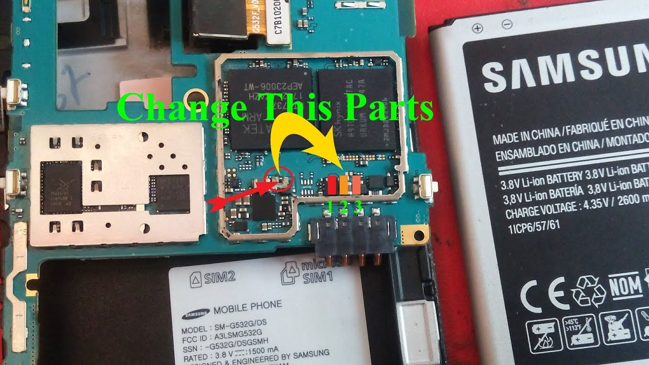 Samsung G532g not charging solution by Sumon Techinfo