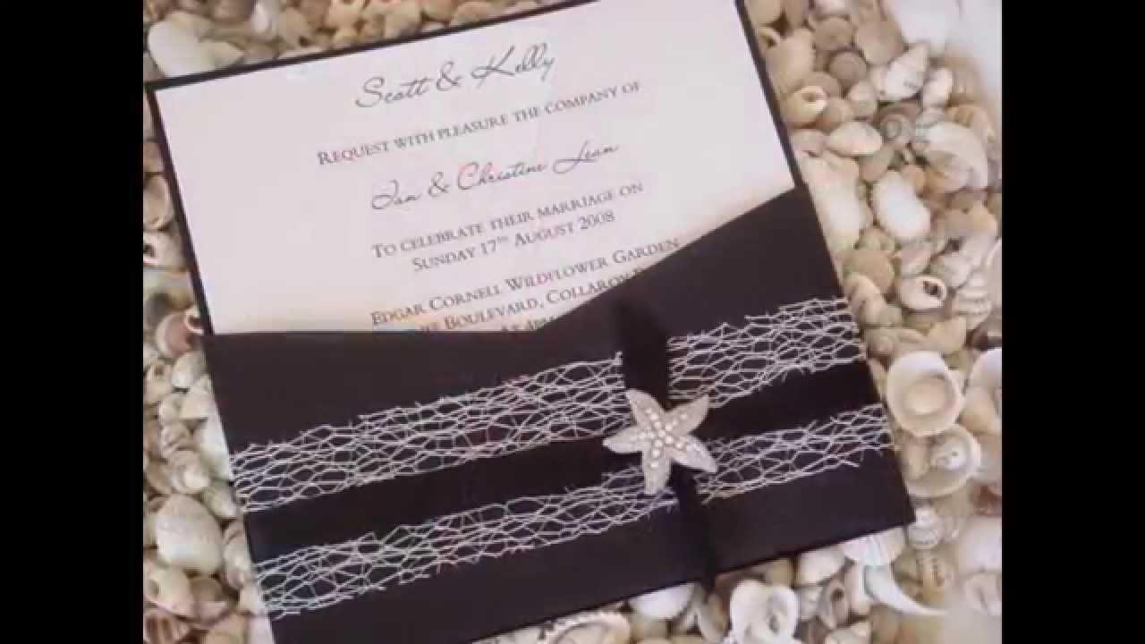 Invitaciones de boda originales y bonitas youtube for Cosas de decoracion originales
