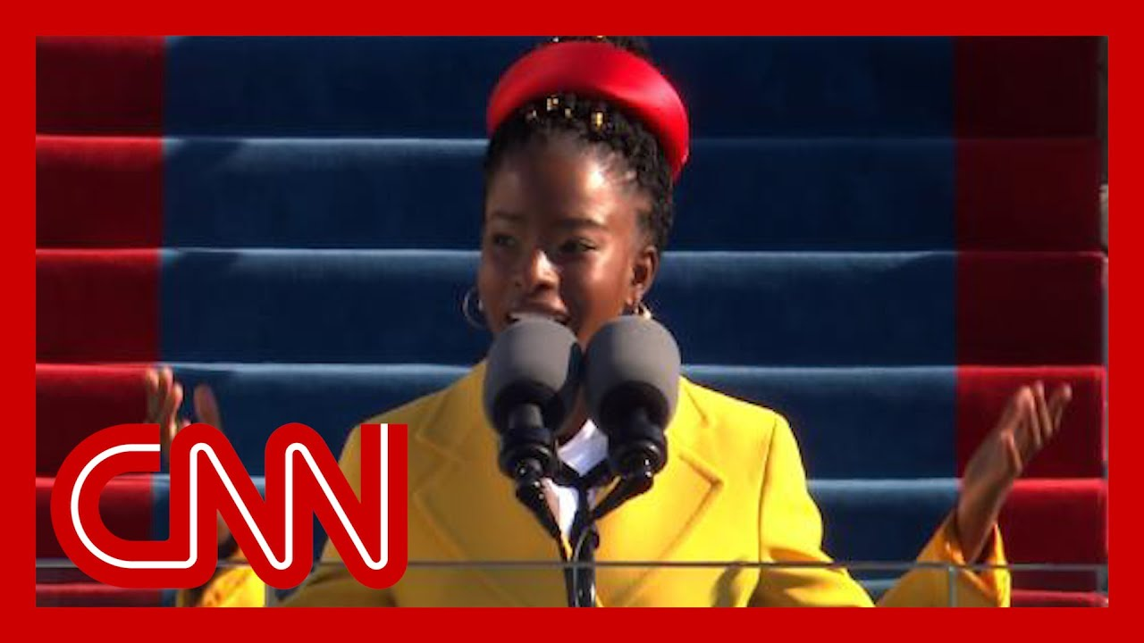 Amanda Gorman recites stunning poem at Biden inauguration