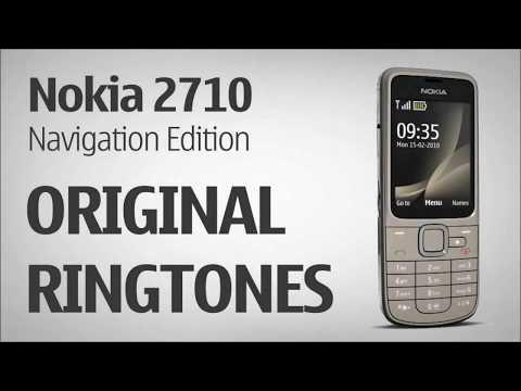 Nokia 2710 Navigation Edition Original Ringtones