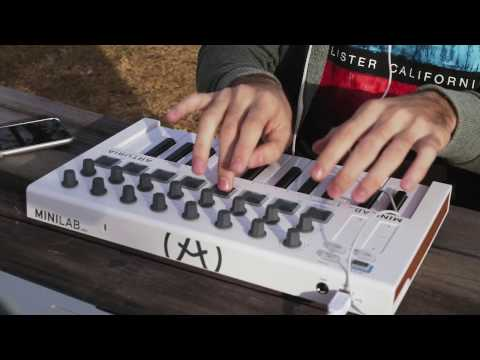 MiniLab MK2 : Live performance using Arturia's V Collection 5