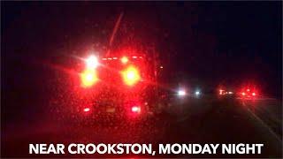 UPDATE: Rollover Crash Near Crookston Monday Night