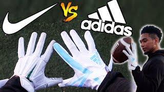 NIKE VS ADIDAS FOOTBALL GLOVES!