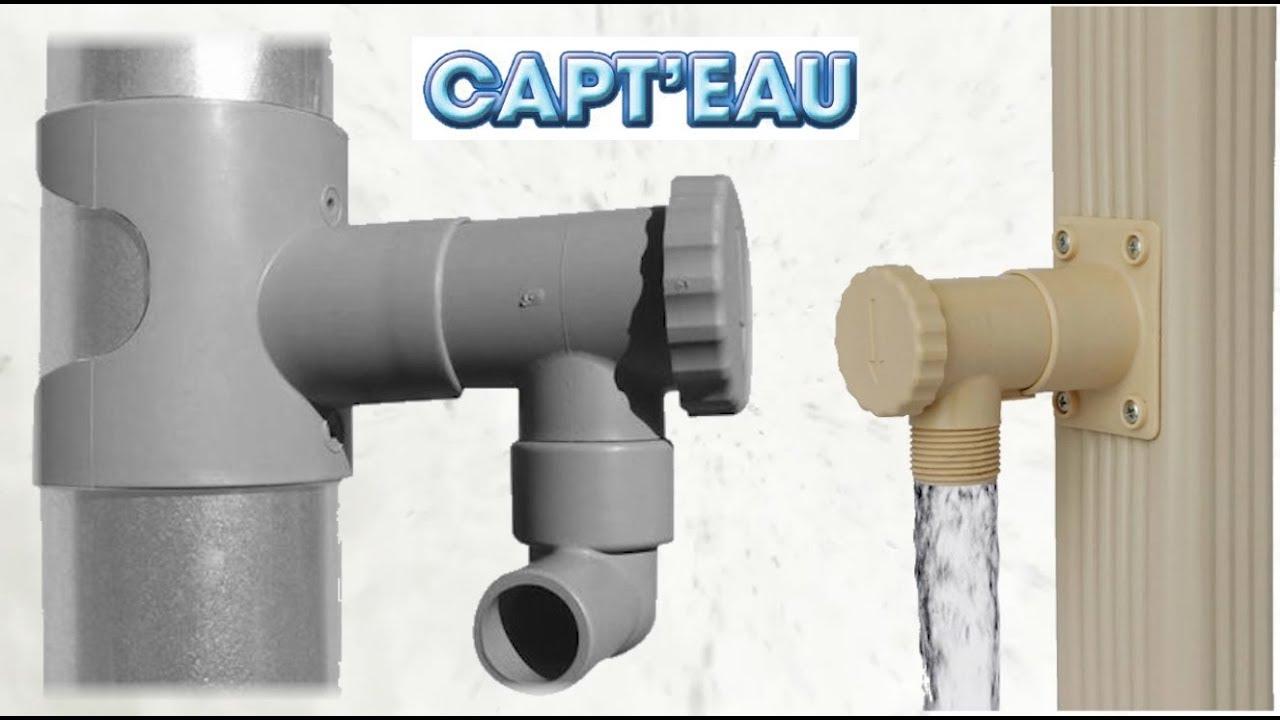 collecteur d 39 eau de pluie capt 39 eau par babaz 39 inov youtube. Black Bedroom Furniture Sets. Home Design Ideas