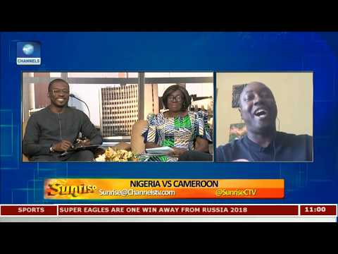 Analysing Nigeria's Victory Against Cameroon With Eagles Media Officer Ibitoye Pt.1 |Sunrise|
