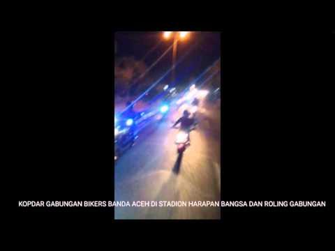 Kopdar dan Roling Gabungan Bikers Banda Aceh