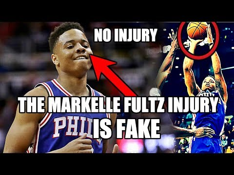 Why the Markelle Fultz Injury is FAKE