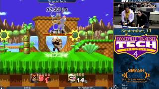 TTS4 - Iori (Captain Falcon) vs Mr. Pickle (Wario) - Project M grand finals