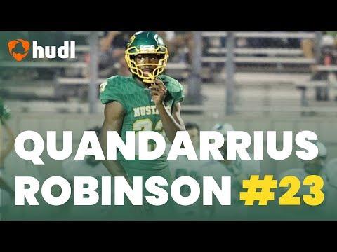 Quandarrius Robinson | Jackson-Olin Football | Ultimate Junior Highlights