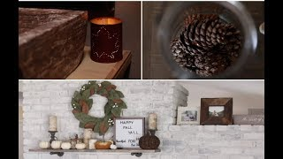 indoor-fall-decor-diy-luminary-scented-pinecones-fire-mantle-decor