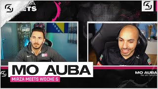 MIRZA MEETS.. MO AUBA | Der FIFA Weltmeister