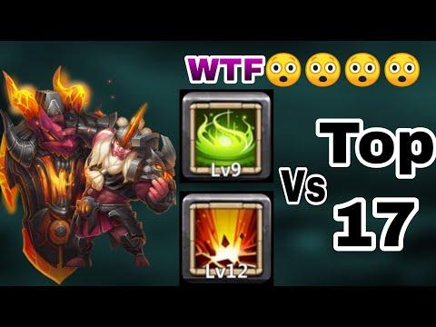 Svalinn Vs Top-17 Beast | 9/9 Vigorous Fury | 59 Destiny | 20 BT | No Warden/Insingia | Castle Clash