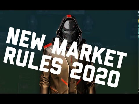 Eve Online - New Market Rules 2020 - Advanced Broker Relations - station trading