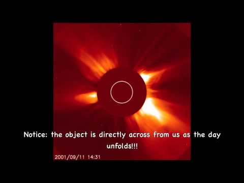 September 11, 2001 SOHO (Solar and Heliospheric Observatory)