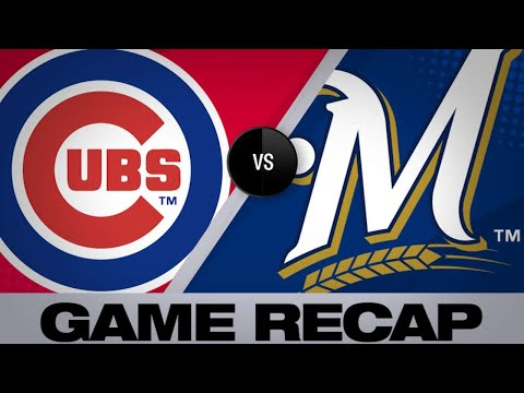 Brewers belt 5 homers in 13-10 win over Cubs - 4/5/19