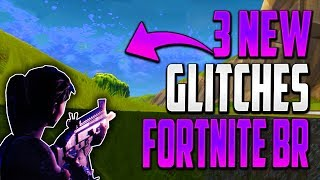 GLITCHES FORTNITE BATTLE ROYALE - 3 NEW WALLBREACH UNDER THE MAP GOD MODE GLITCHES FORTNITE BR