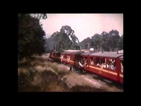 Puffing Billy From Upper Ferntree Gully Victoria pre 1962