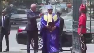 Gambia's Ambassador To Senegal, Ebou Ndure Presented Today His Credentials To President ...