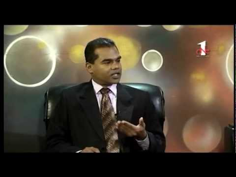 One Sri Lanka TV interview 2012-07-23 Part 1