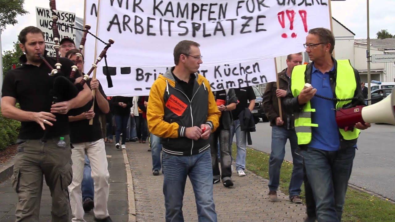Protestaktion Wahrend Der Hausmesse Bei Der Alno Ag Youtube