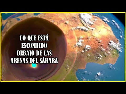 No vas a Creer lo que está Enterrado y Escondido en el Sahara