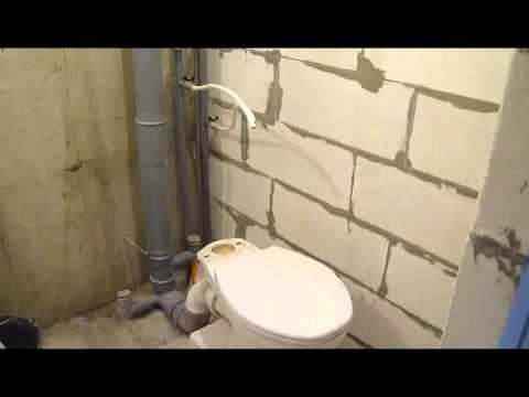 Ремонт ванной комнаты. Часть1. ул.Исаковского д.28 к.2.