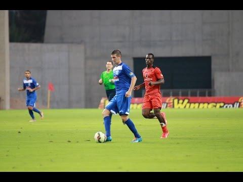 Hapoel Kfar Saba - Maccabi Petah Tikva 0:1 - Panka scored for Petah Tikva. 19.9.15