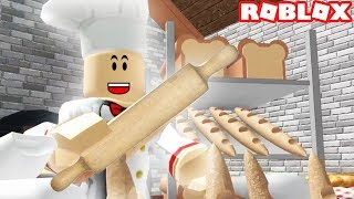 esecuzione di MY OWN BREAD BAKERY IN ROBLOX (panetteria Tycoon episodio #1)
