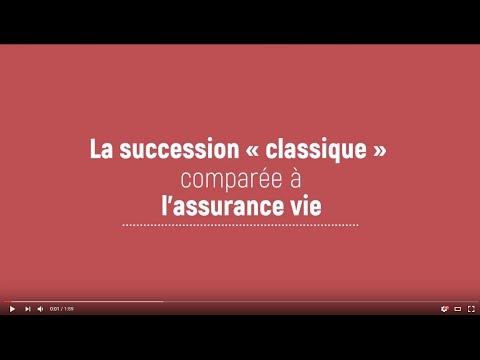 """La succession """"classique"""" comparée à l'assurance vie"""