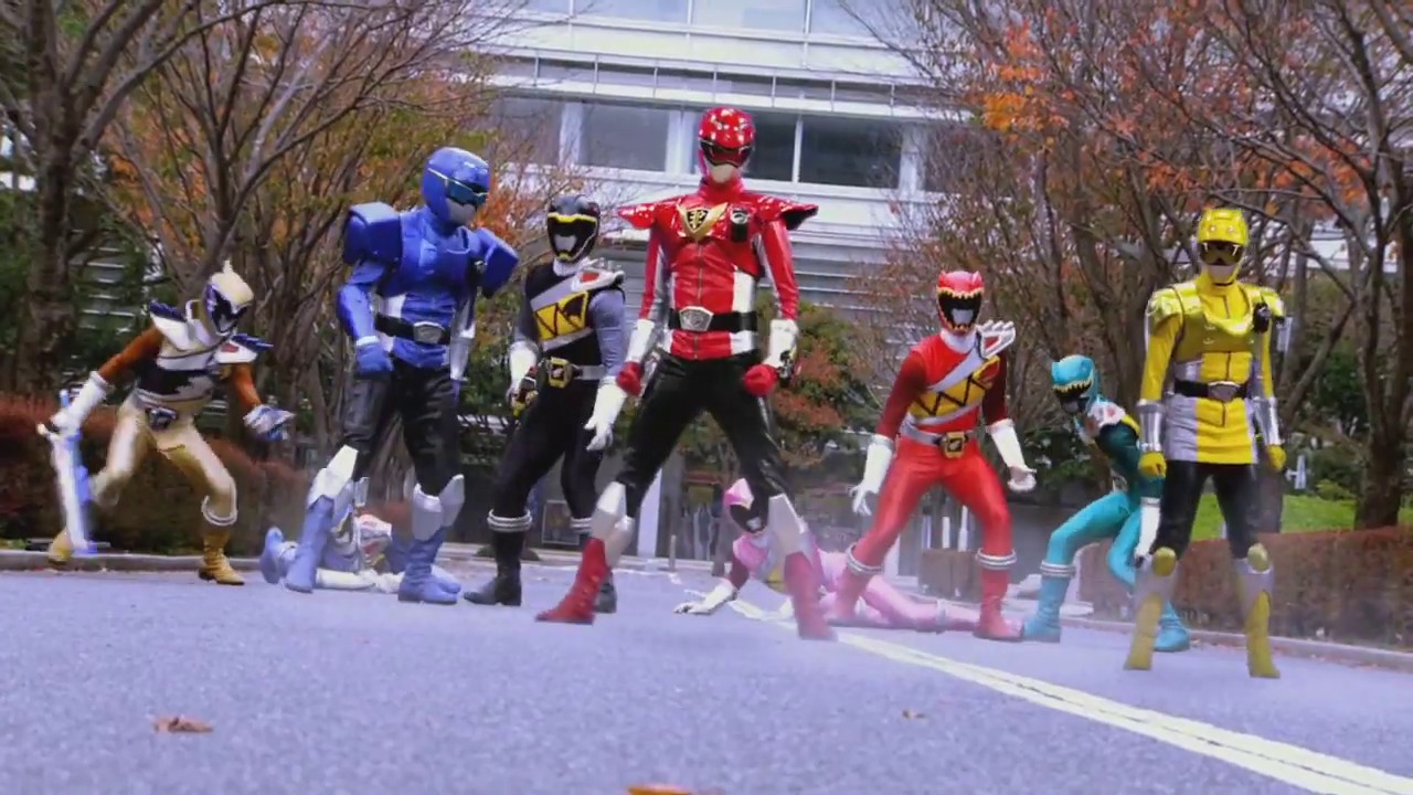 (Fan-Made)Dino Charge Rangers in Power Rangers Beast ...