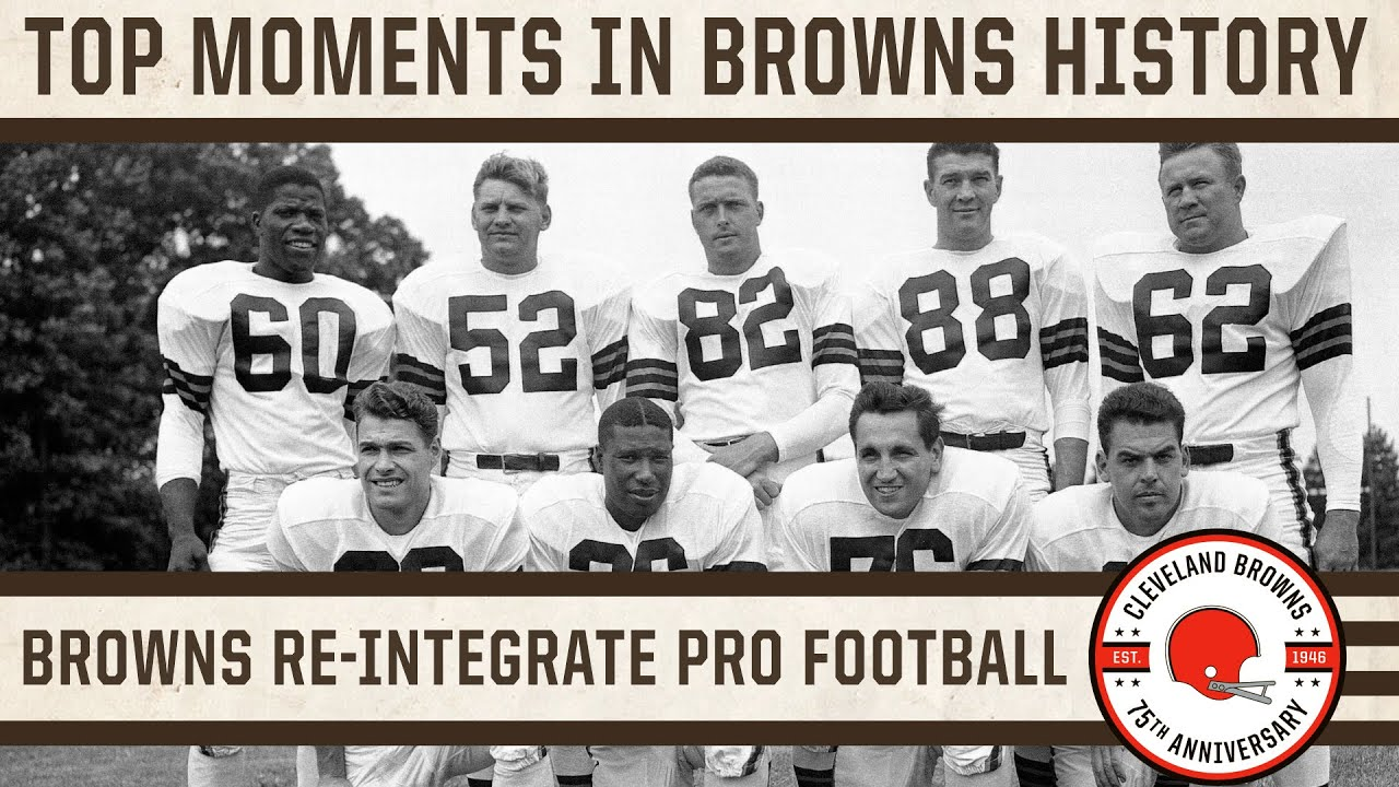 Top 10 Moments: Bill Willis and Marion Motley re-integrate professional football