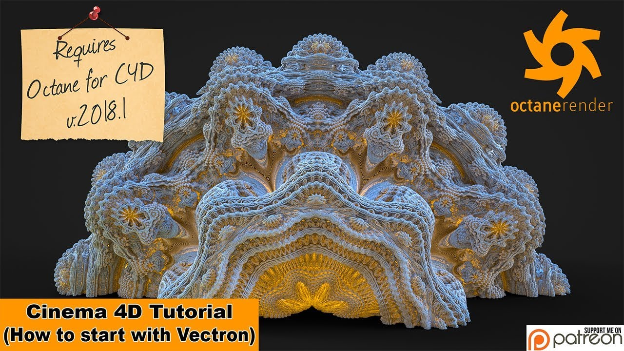 First Steps With Vectron (Cinema 4D Tutorial)