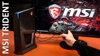 MSI показали игровой ПК размером с консоль