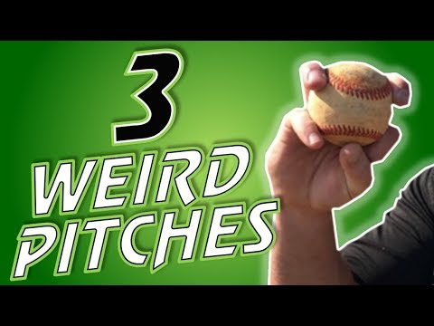 3 WEIRD Baseball Pitches:  The Deadfish, The Vulcan, & The Gyroball