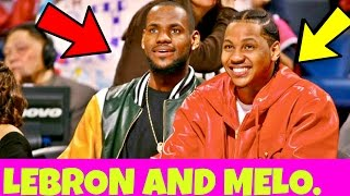 NOW CARMELO ANTHONY AND LEBRON JAMES ARE TEAMING UP!!