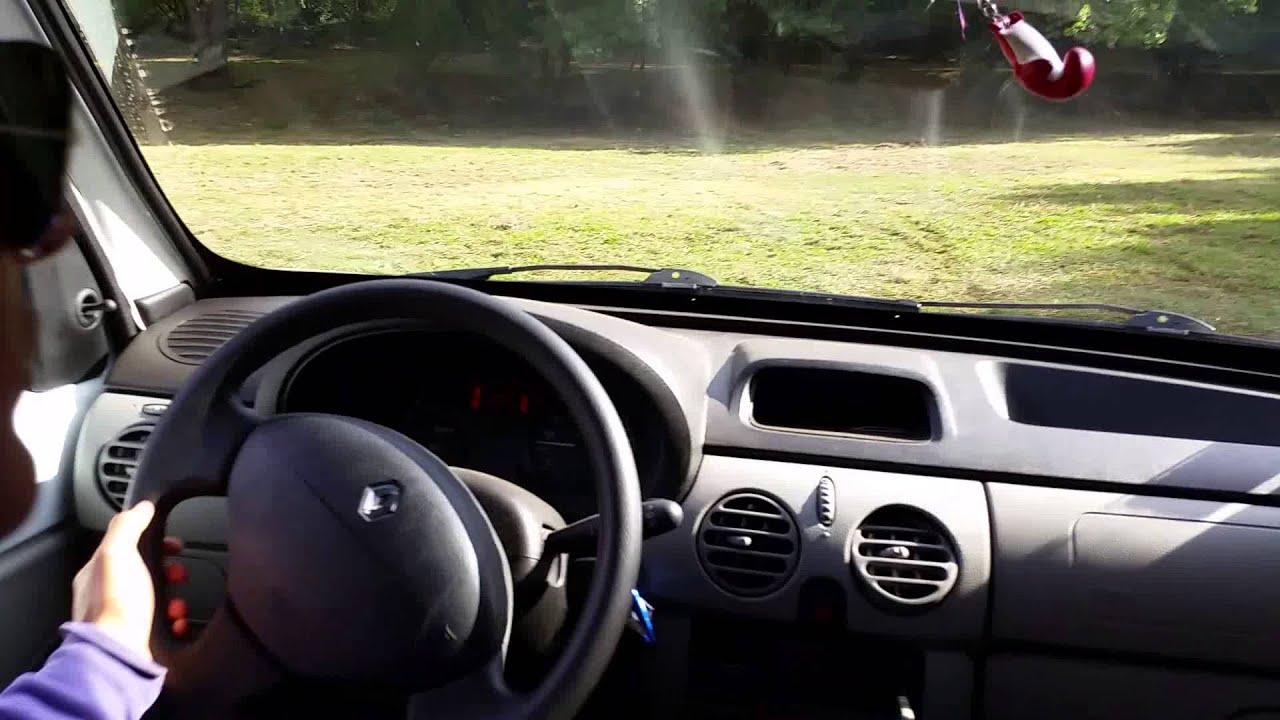 Drift renaud kangoo int rieur youtube for Interieur kangoo