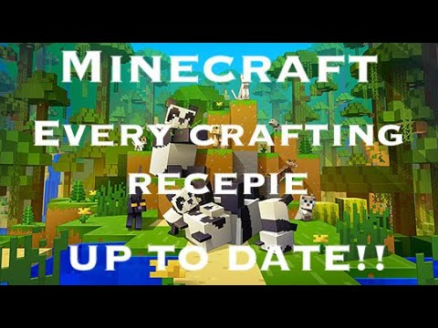 Minecraft: All Crafting Recipes (1.16) (Up To Date!)