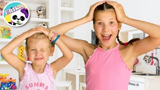 Head, Shoulders, Knees & Toes - Exercise Song for children   Ejercicio para niños   Toys and Erika