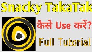 Snacky Taka Tak Kaise Use Kare | how to use snacky taka tak app @MECHANICAL MASTERMIND screenshot 4