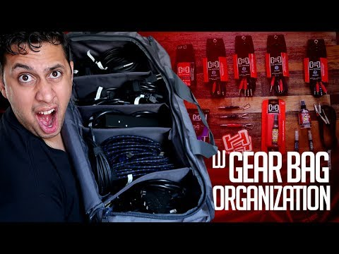 Mail Time:  How I Organize My DJ Cables (DJ TIPs) | Whats In My DJ GEAR BAG? | HOSA TECHNOLOGY