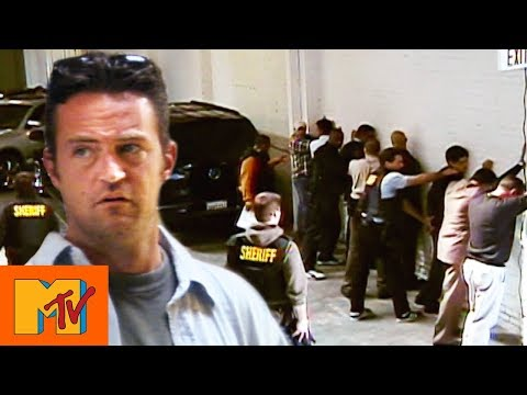 Matthew Perry's Illegal Car Sale Is Raided By Police | Punk'd
