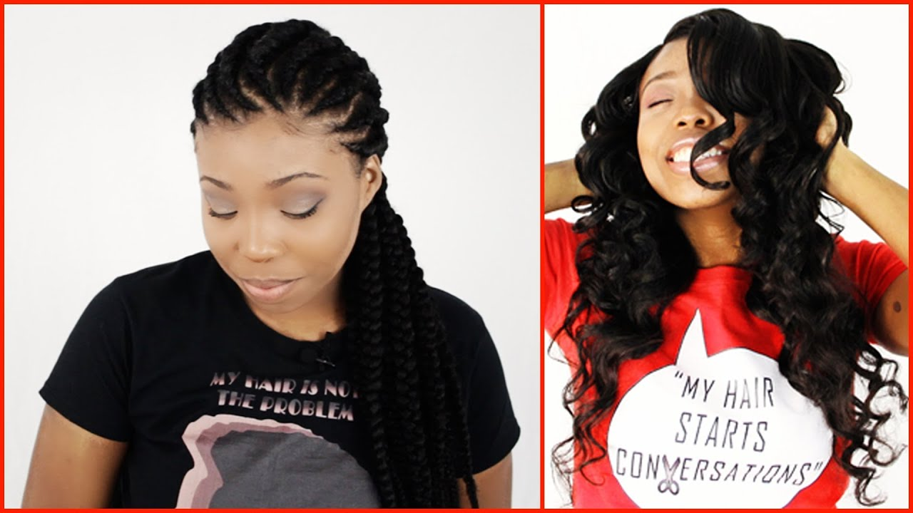protective styles for hair growth wearing weaves to grow out hair for protective 8133