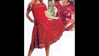 Вязаные женские платья на все случаи жизни